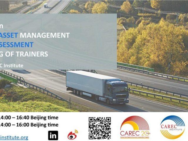 CAREC Road Asset Management Maturity Assessment and Training of Trainers