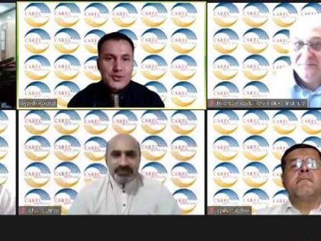 CAREC Institute Expert Roundtable Discussion on Digital CAREC